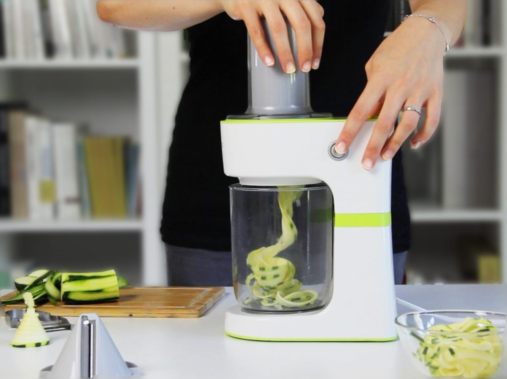 test spiralizer kenwood